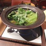 えびマリアージュきっちん - 【名物】海老出汁の草鍋
