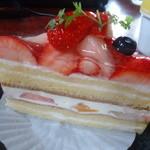 はぁ~と - 苺がいっぱいショートケーキ 400円