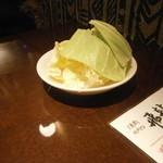 飛龍 - 料理写真:手始めのキャベツ