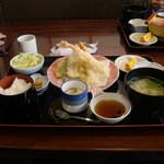海鮮問屋 太へい洋 - 海鮮問屋 太へい洋(天ぷら定食)