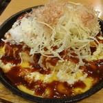 一軒め酒場 - 豆腐のお好み焼風:263円