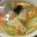 24747628 - 野菜スープ ¥550