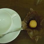 カフェ フラット - 付いてきたクッキー美味しかったですにゃ♪