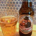 カサレッチョ - で、この日のビールはこれにしました。お洒落なラベルです。