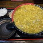 極楽うどん Ah-麺 - 鶏卵チキンカレーうどん890円 ※2014年3月