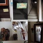 キンカーオ - 階段を上って2階の扉を開けると店内に入れます