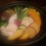 タイーム - 2014・1・2 野菜のタジン蒸し