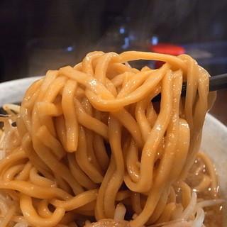 麺屋 愛0028 - 麺はワシモゴと言うより、ズルズルうどん的(2014年2月15日)