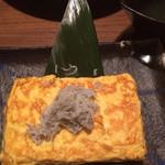 24752066 - 青のりのあんかけ玉子焼〜釜揚げしらすのせ〜 428円(税抜)