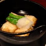竹取物語 - 揚げ出し豆腐:420円