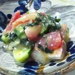 南来実 - 海鮮酢味噌和え