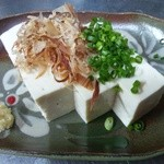 南来実 - 島豆腐の冷やっこ