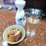 24752784 - 2014.03 冷酒は別料金なので会津ほまれを常温で×2逝きました(150円×2)