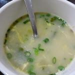 カトマンドゥカリーPUJA - スープがついてきました(*・ε・*)