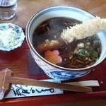 一休 - 天ぷら蕎麦 1,575円