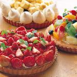 ポルティチェッロ - 自家製タルト季節のフルーツなどの見た目にも可愛らしいタルトを各種ご用意!