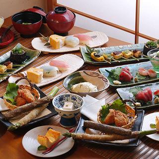 落ち着いた和みの空間で味わう、様々な豆腐料理