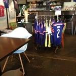 Fútbol & Café Corazón - 店内