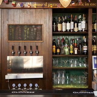 地ビール生樽6種類ギネス等生樽6種類12タップの生ビール