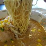 若葉 - 味噌ラーメン 350円