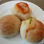 サンマルクパスタ - ランチのパン食べ放題1