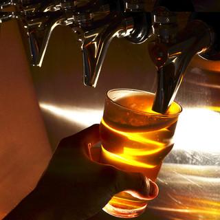 自社輸入の「樽生クラフトビール」