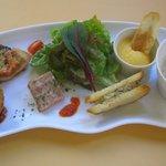 ピュアエール - 料理写真:ランチ パレットプレート