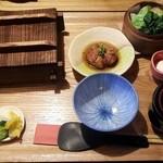 杏 - やはりせいろランチを (1200円)