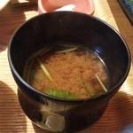 杏 - お味噌汁