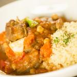 ドクトルカルネ - 仔羊肩肉と野菜の煮込み クスクス 1,600円