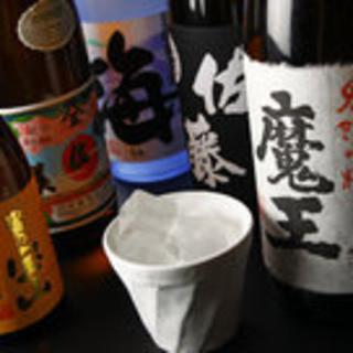 地酒・本格焼酎あります!
