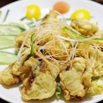 口福飯店 - 牡蠣揚げの山椒風味