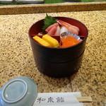 和泉鮨 - 二段重