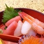 和泉鮨 - マグロ・以下・タイ・甘エビ・小柱・いくら・卵焼き
