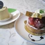 JAMIN - ケーキ2つ