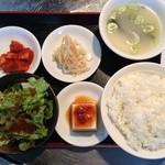 韓国亭豚や - プルコギ定食