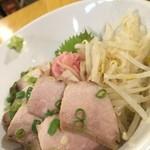 鮪専門店 MEGRO - トロわさび醤油丼どあっぷ