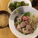 鮪専門店 MEGRO - トロわさび醤油丼