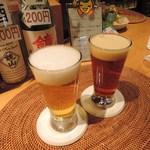 小江戸蔵里内 鏡山酒造 売店 - COEDO瑠璃と紅赤
