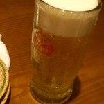 海人酒房 - オリオン生 690円