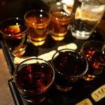 黒猫夜 - 紹興酒呑み比べ