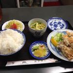 蓬山 - 鶏天定食