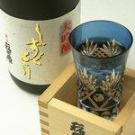 ◇【プレミアム酒】超特選大吟醸 しずくどり【稲田姫】110mlグラス