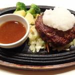 町の洋食屋さん ビストロ ドナ 池袋東武店 - 和風おろしハンバーグステーキ