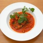 ラルゴ - 豚肩ロース肉の柔らかトマト煮