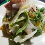 スペンディオ - ◆こごみと春野菜のサラダ