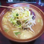 大王 - 味噌タンメン