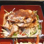 24774932 - 豚ロースの生姜ジャム焼き御膳 880円