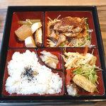 24774935 - 豚ロースの生姜ジャム焼き御膳 880円