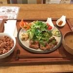 レーベルカフェ OSAKA - 日替わりお惣菜プレート、ごちそうさま!